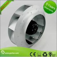 AC Centrifugal Exhaust Fan Blower With Backward Curved Blades For Floor Ventilation Manufactures