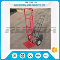 Durable Steel Hand Truck Dolly HT1805 200KG Load 10inches PU Foam Wheel TUV Manufactures