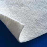 White Color PET Geotextile Stabilization  Fabric Non Woven Light weight UV Resistance Manufactures