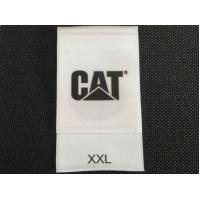 Waterproof Care Label Tags With Garment Size And Brand Name OEM Service