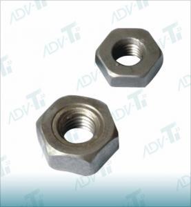DIN 934 Hexagon Titanium Nuts , Polishing Auto Industry Wheel Nut Manufactures