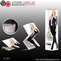 Quality retail corrugated paper display standee in the supermarket for sale