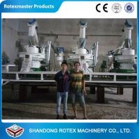 Industrial CE ISO Wood Pellet Production Line For High Speed Pellet Making Manufactures