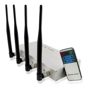 โรงงาน Jammer   High Power Mobile Phone Jammer with Strength Remote Control Manufactures