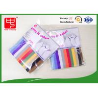 China Reusable Micro hook & loop straps Puppy Pet Collars Various Color 10 * 350mm on sale