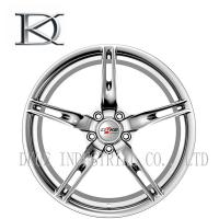 Buy cheap Two Pieces Car Racing Wheels Concave Forged , Aluminum Car Racing Rims 5 Holes from wholesalers