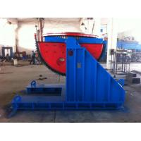 Two Big Semicircle Gears 5 Tons Welding  Positioner VFD Change Rolling Speed Manufactures