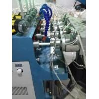 Air Supply >0.5Mpa PVC Pipe Extrusion Line , PVC Pipe Making Machine Four Cavity Extrusion