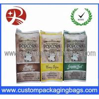 Printing Biodegradable Plastic Food Packaging Bags / Colour Popcorn Bags Manufactures