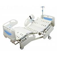 China Three Function Electric Hospital Patient Bed With PP Side Rail / Adjustable Height on sale