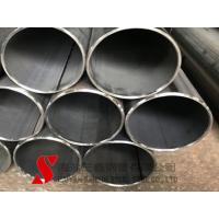 China Wear Resistant Round Welded Steel Tube 13mm Cold Drawn High Precision on sale