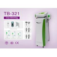 Five Handle Cryo Slimming Machine for Cellulite Reduce / Fat Freezing / RF Face Lifting Manufactures