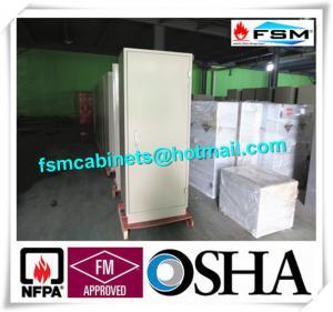 Durable Antimagnetic Fire Safe File Cabinets 9 Drawer Single Door For CD / Disk Manufactures