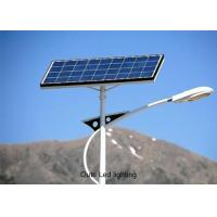 China Anti Corrosion LED Lights Solar Power Systems / Automatic Street Light Using Solar Panel on sale