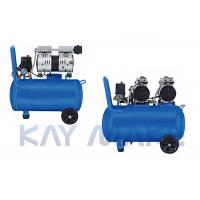 China Car Painting Portable Oilless Air Compressor Avant Garde Design 2 Year Warranty on sale