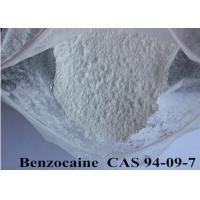CAS 94-09-7 Pharmaceutical Raw Materials 99% High Purity Pain Killer Benzocaine Manufactures