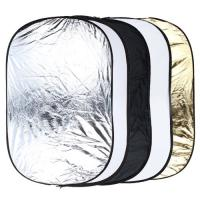 5 in 1 Portable Photography Studio Multi Photo Collapsible Light Reflector 60 x 90cm Manufactures