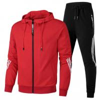 Custom Your Own Brand Mens Sports Tracksuits Lightweight Cotton Hoodie Printed Manufactures