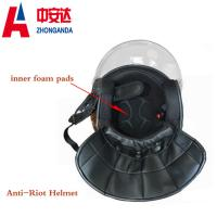Buy cheap Portable Anti riot helmet for police equipment from wholesalers