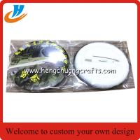 China Badge factory custom tin button badge L087, cheap tin badge wholesale custom on sale