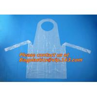 pe disposable apron in kitchen household,chef disposable plastic aprons,Cheap price plastic disposable apron BAGEASE Manufactures