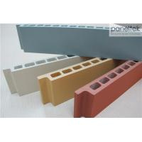 30mm Thickness Terracotta Rainscreen Cladding For Building Facade Materials Manufactures