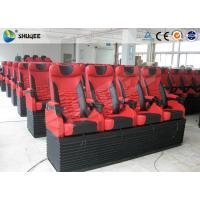 Mobile 5D Cinema Simulator With 3DOF Motion Chair With 4 Seats Per Set Manufactures