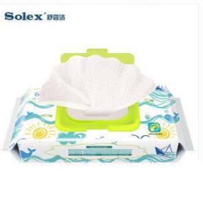 International certification Solex brand Newborns 0-3 months dedicated wet wipes best huggies warmer Target  baby wipes Manufactures