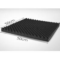 EPDM Acoustic Foam Panels 50mm Self - Adhesive Wavy Sound Absorption Panels Manufactures
