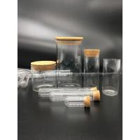 China Glass Test Tube with Cork Cap on sale