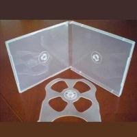 Quality Super Clear Full Sleeve CD Poly Box for 4-disc for sale