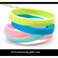 Christmas gift custom silicone wristband / bracelet / rubber band for kids Manufactures