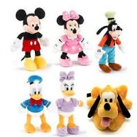 22cm Original Full Set Disney Plush Toys Disney Family Stuffed Animals Manufactures