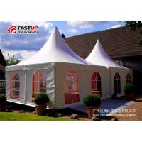 China Aluminum Frame 10x10 Festival Tent , Heated Tents For Party No Interior Poles wholesale