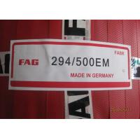 China 500 × 870 × 224 mm FAG Bearing 294/500- E - MB Self - Aligning Roller Bearing on sale