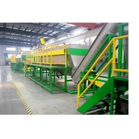 China PE Drip Pipe CE 500kg / H Plastic Recycling Washing Machine on sale