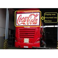 SMD2525 Bus Advertisments bus led display boards Super Thin and Light Manufactures
