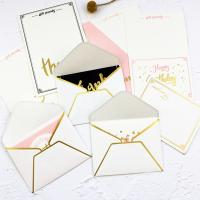 Foldable Gift Card Hard Paper Envelope 0.12mm-0.4mm Thickness Manufactures