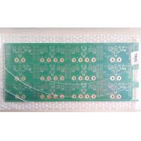 Audio / Video Custom Printed Circuit Board 2 Layers FR4 Material ENIG Surface Manufactures