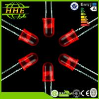 Through Hole LED 5mm LED Diode 625-630nm Red Color With 30 Degree Manufactures