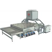 China Shower Room Glass Washing and Drying Machine Flat Glass Panel Glass Cleaning Equipment on sale