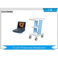 China High Definition Portable Doppler Machine / 3d Ultrasound Machine With Trolley Cart on sale