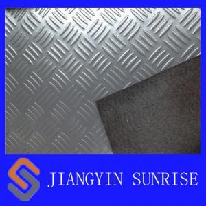 China Luxury Vinyl Tile Flooring / Solid Color Vinyl Floor Tiles / Interlocking Vinyl Plank Flooring on sale