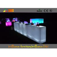 Colors change LED Bar Tables , banquet & party Glowing bar furniture Manufactures