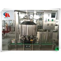Buy cheap Carbonated Soft Drink Bottling Machine , Bottling Line Equipment 0.4Mpa Heating Steam Pressure from wholesalers