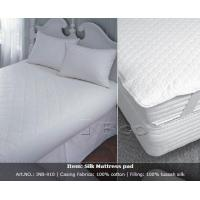 Eco-Friendly Organic Silk Mattress Pad Manufactures