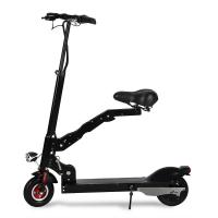 Portable Folding Electric Scooter For Adult / Folding Seat Motorized Electric Scooter Manufactures