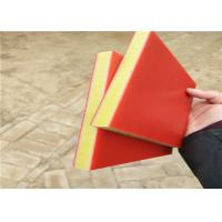 red/yellow/red color three sandwich layers hdpe virgin plastic sheet 15mm thick Manufactures