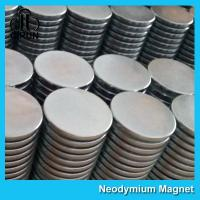 Strong Disc NdFeB Rare Earth Neodymium Magnets 10mm X 1mm Custom Shaped Manufactures