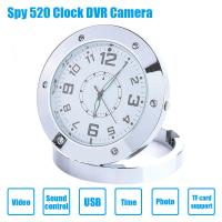 China Wholesales New HD Hidden Spy Alarm Clock Video Camera DVR Motion Detector Camcorder Recorde Made In China Factory on sale